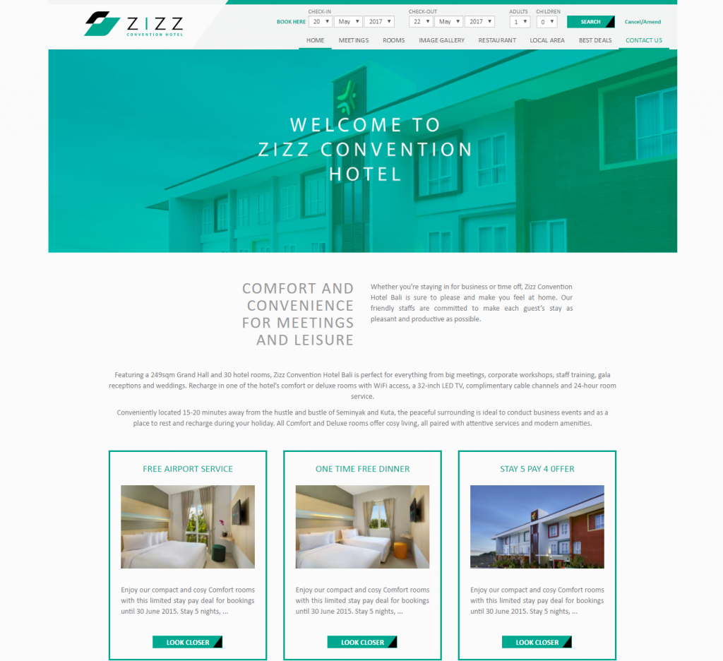 zizz convention hotel - Compact Hotel 2015