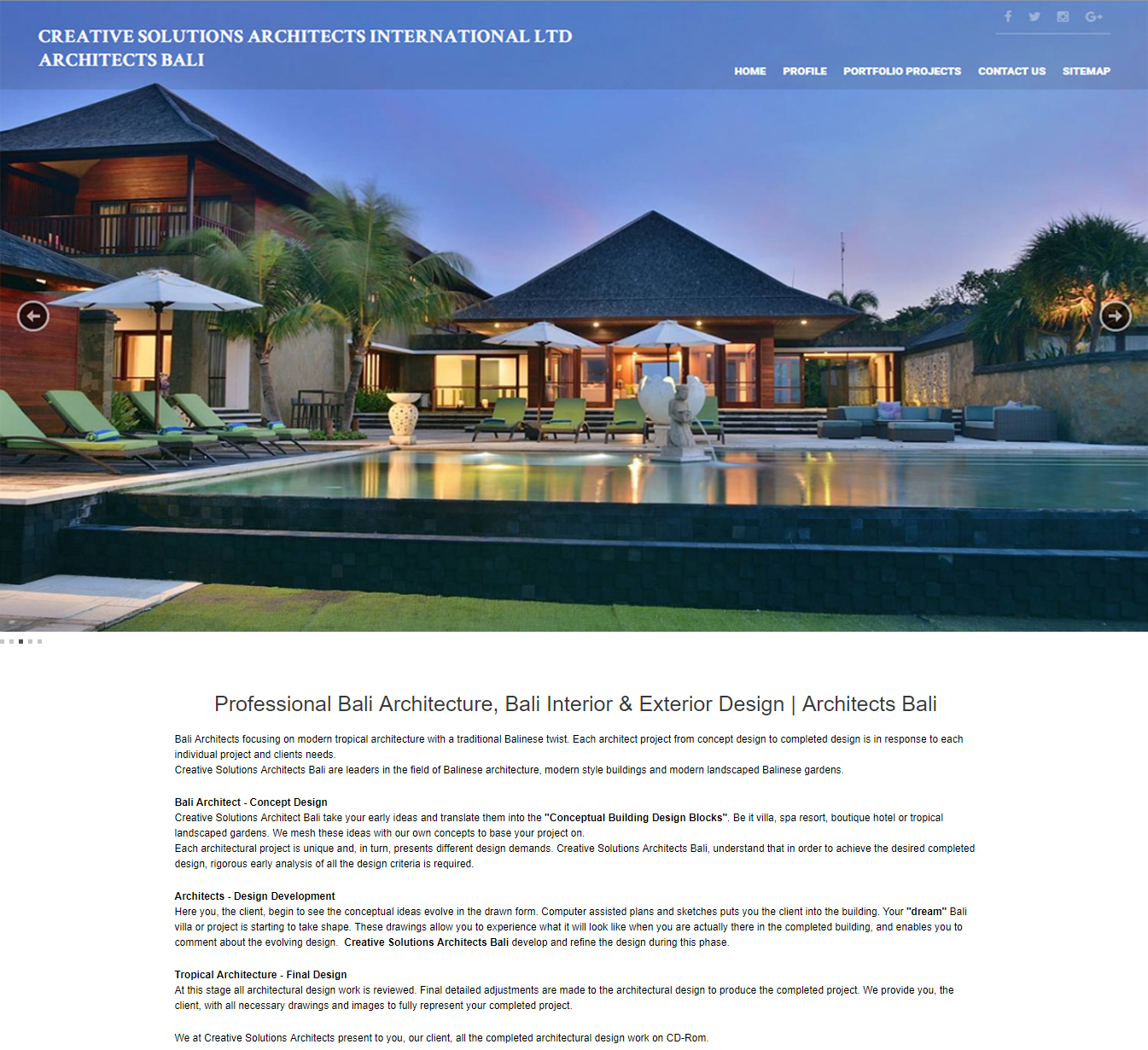 Architect Bali Bali Web Design And Development